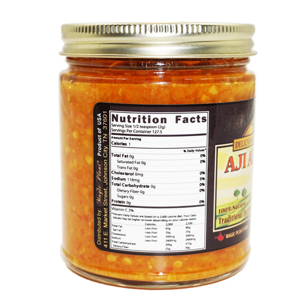 Aji Amarillo Mash Jar - right