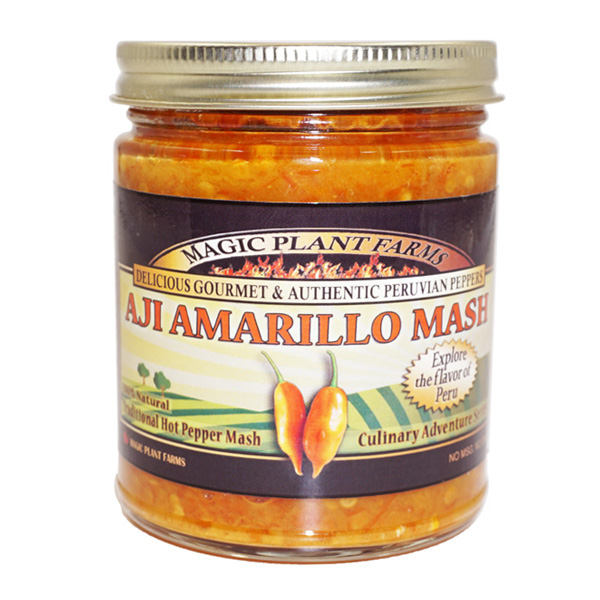 Aji Amarillo Mash Jar