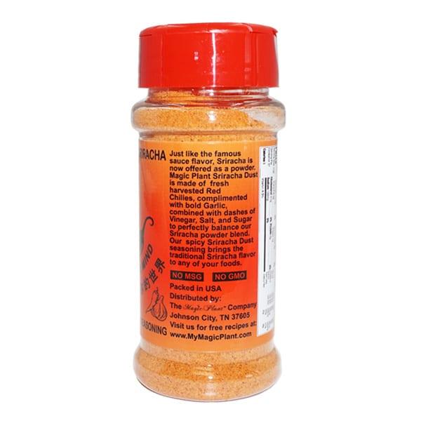 Carolina Reaper Sriracha Powder Jar - left