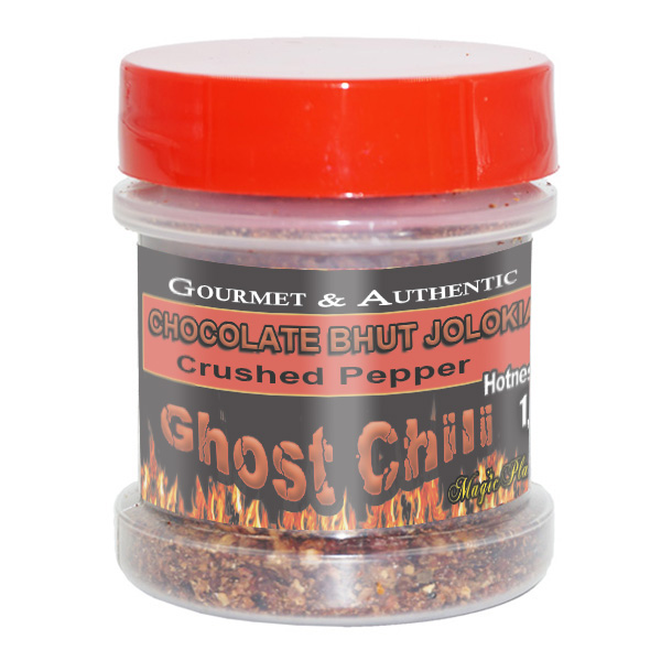 Ghost Chocolate Pepper in a Jar