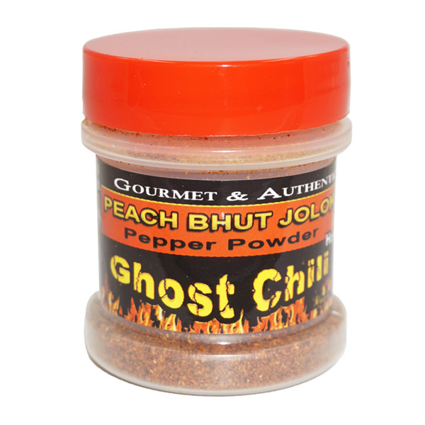 Ghost Chili Peach Powder Jar