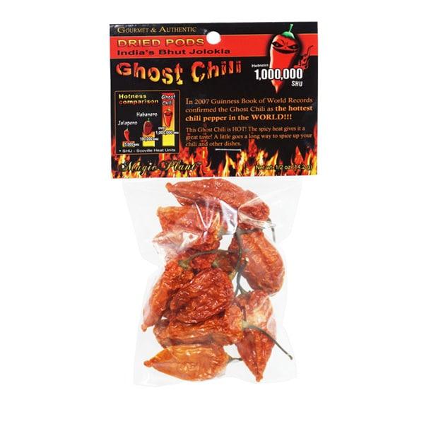 Ghost Chili Pepper | Bhut Jolokia Pepper