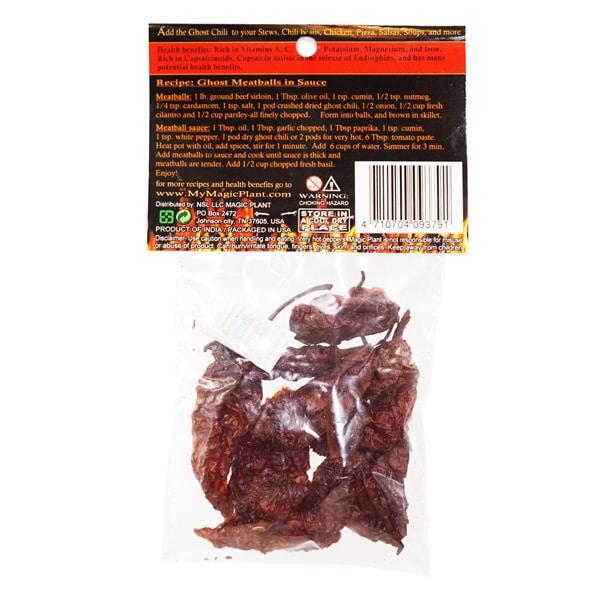 Smoked Ghost Pepper | Smoked Bhut Jolokia