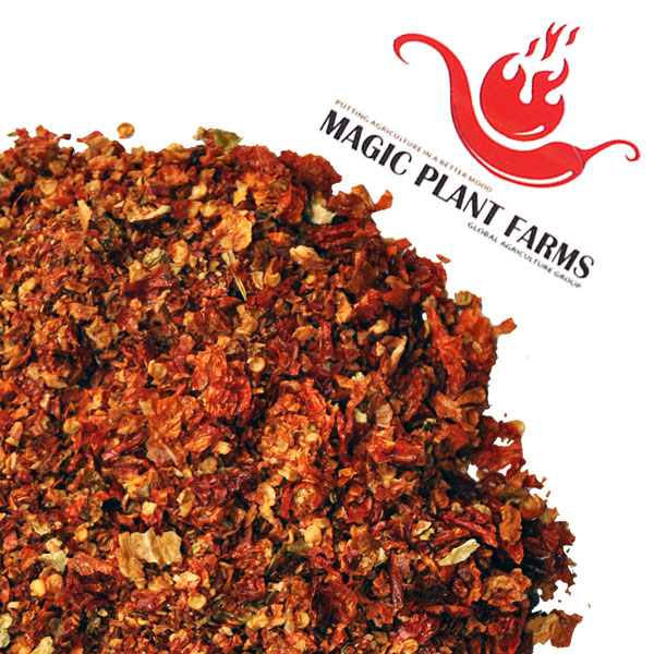 Ghost Pepper Flakes | Ghost Chili Flakes