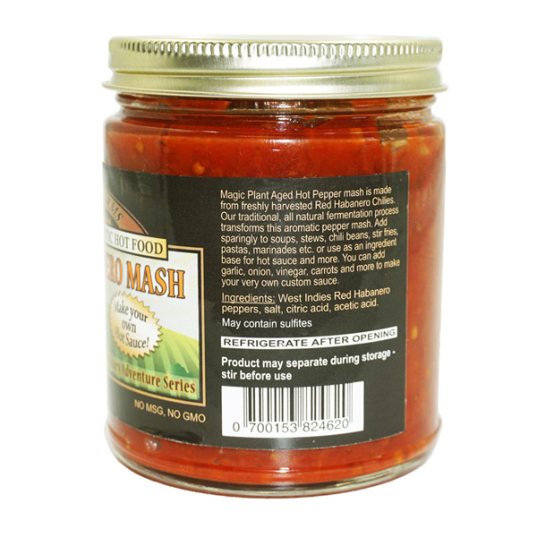 Habanero Chili Paste / Puree / Mash in a Jar