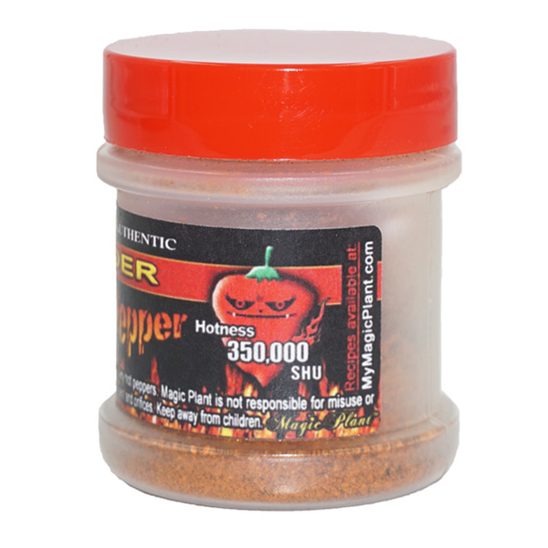 Habanero Pepper Powder Jar - left
