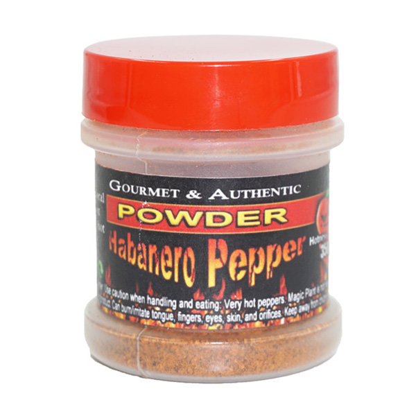 Habanero Pepper Powder Jar