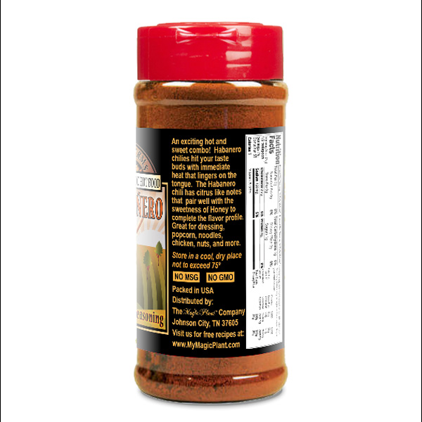 Honey Habanero Powder in a Jar - left