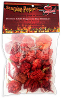 Trinidad Scorpion Pepper Bag