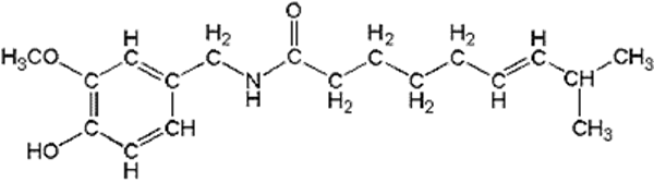 chemical composition of Capsaicinoids